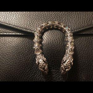 Gucci Dionysus small shoulder bag black handbag